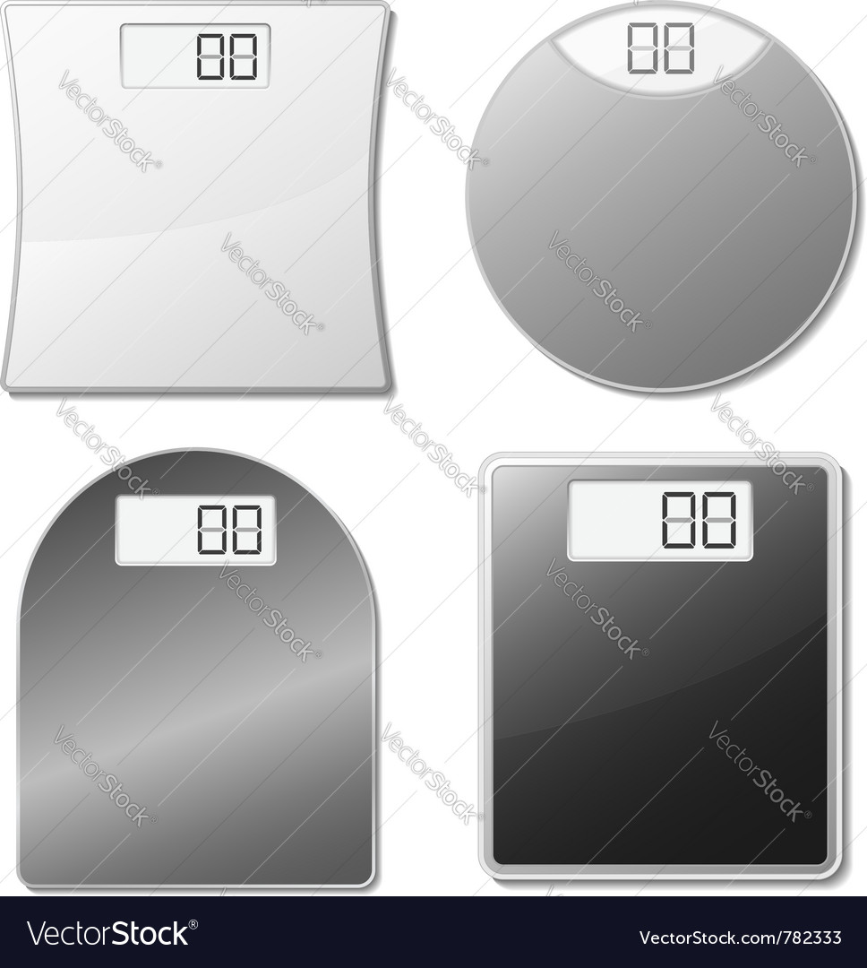Electronic scales vector | Price: 1 Credit (USD $1)