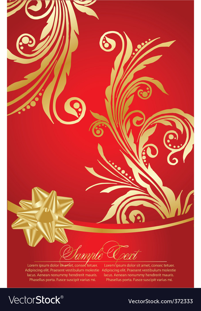 Elegant red background vector | Price: 1 Credit (USD $1)