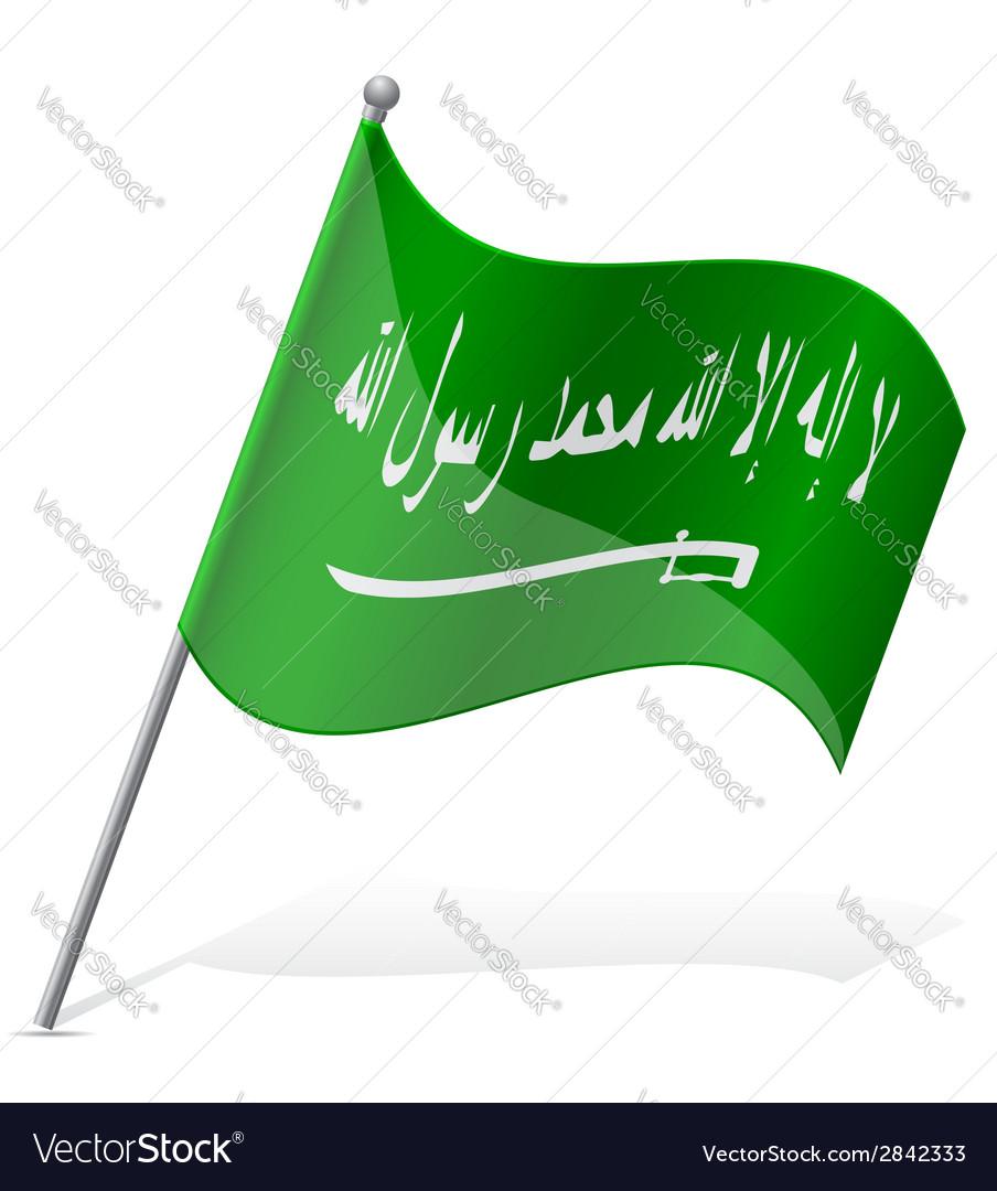 Flag of saudi arabia vector   Price: 1 Credit (USD $1)
