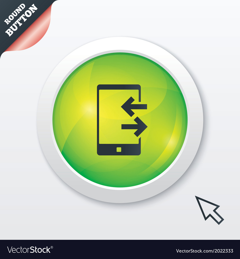 Incoming and outcoming calls sign icon vector | Price: 1 Credit (USD $1)