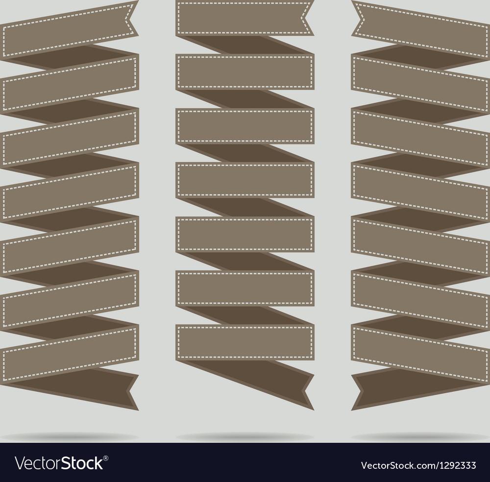 Ribbon set vector   Price: 1 Credit (USD $1)