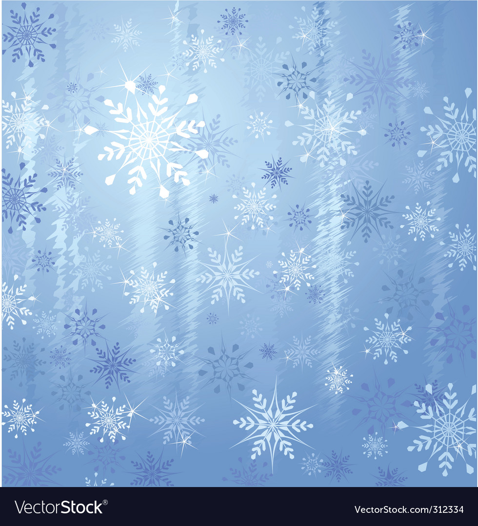 Snowflakes and ice vector | Price: 1 Credit (USD $1)