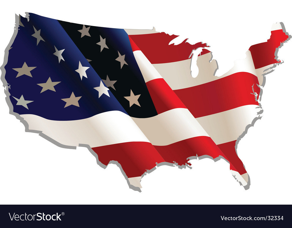 Usa vector | Price: 1 Credit (USD $1)