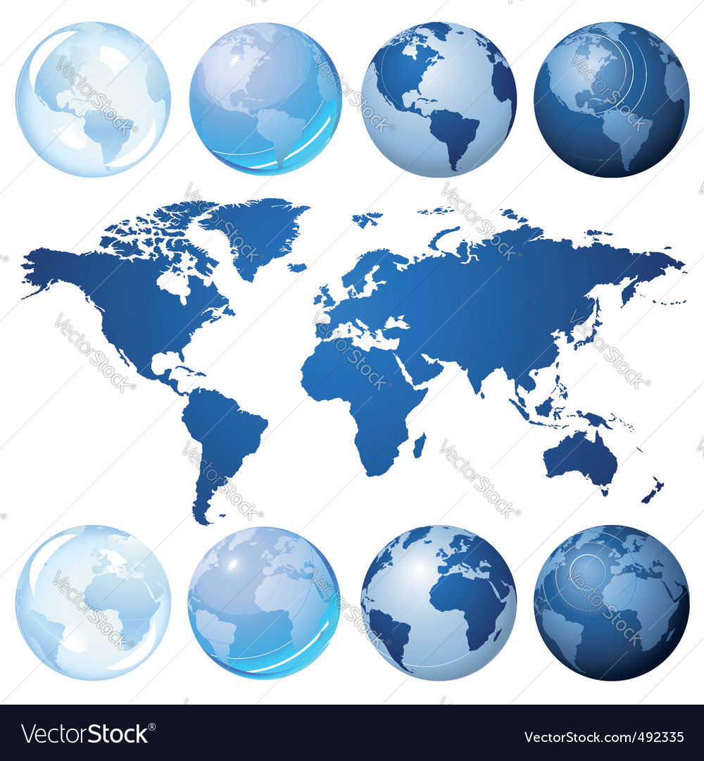 Globe kit vector | Price: 1 Credit (USD $1)