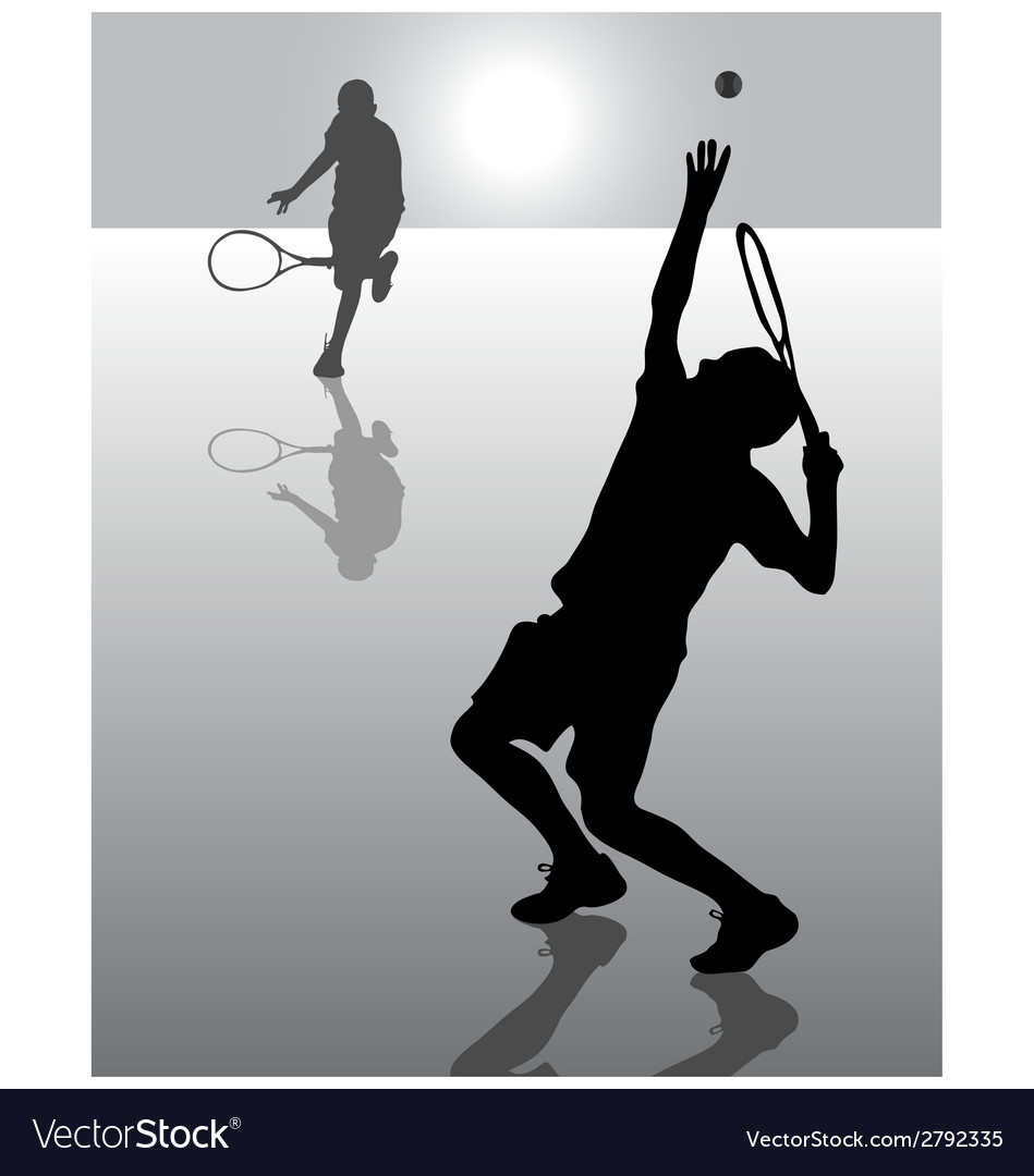 Tennis 8 vector | Price: 1 Credit (USD $1)