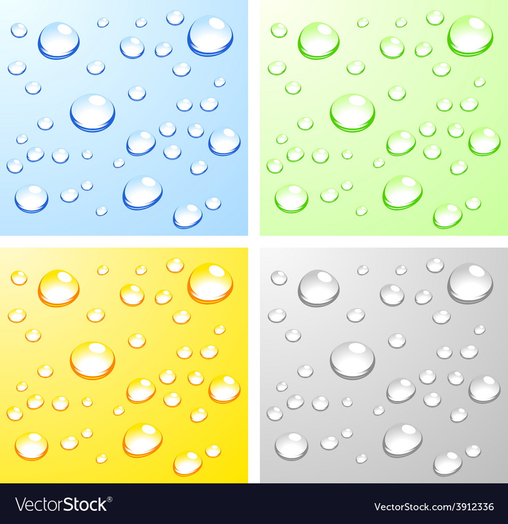 Wet surfaces vector | Price: 1 Credit (USD $1)