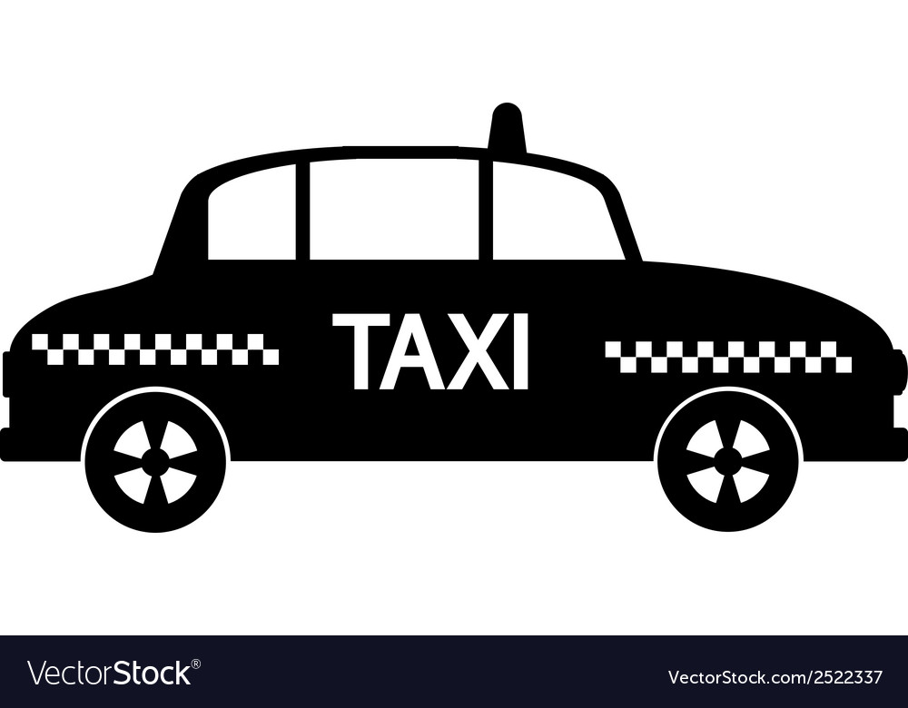 Taxi car vector | Price: 1 Credit (USD $1)