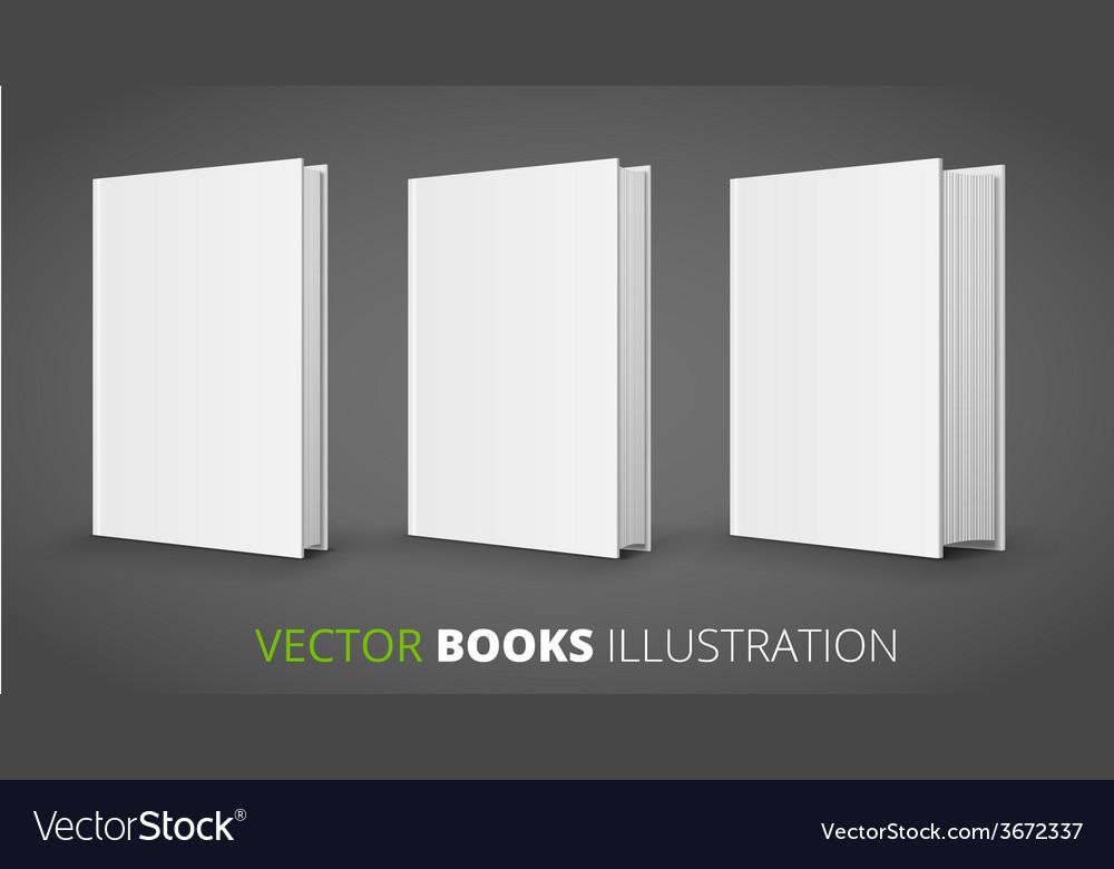 Three books vector | Price: 1 Credit (USD $1)
