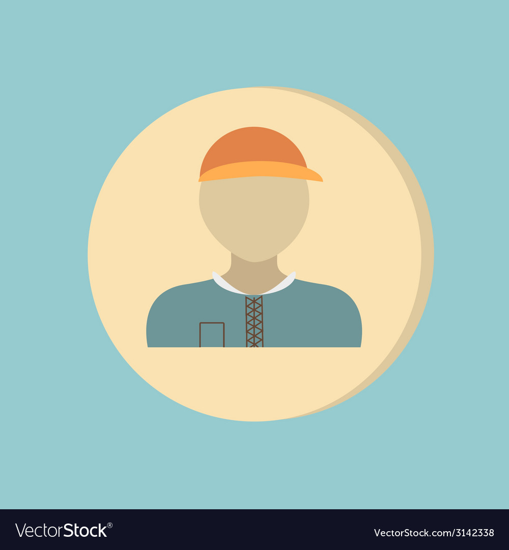 A male avatar picture a man round icon image man vector | Price: 1 Credit (USD $1)