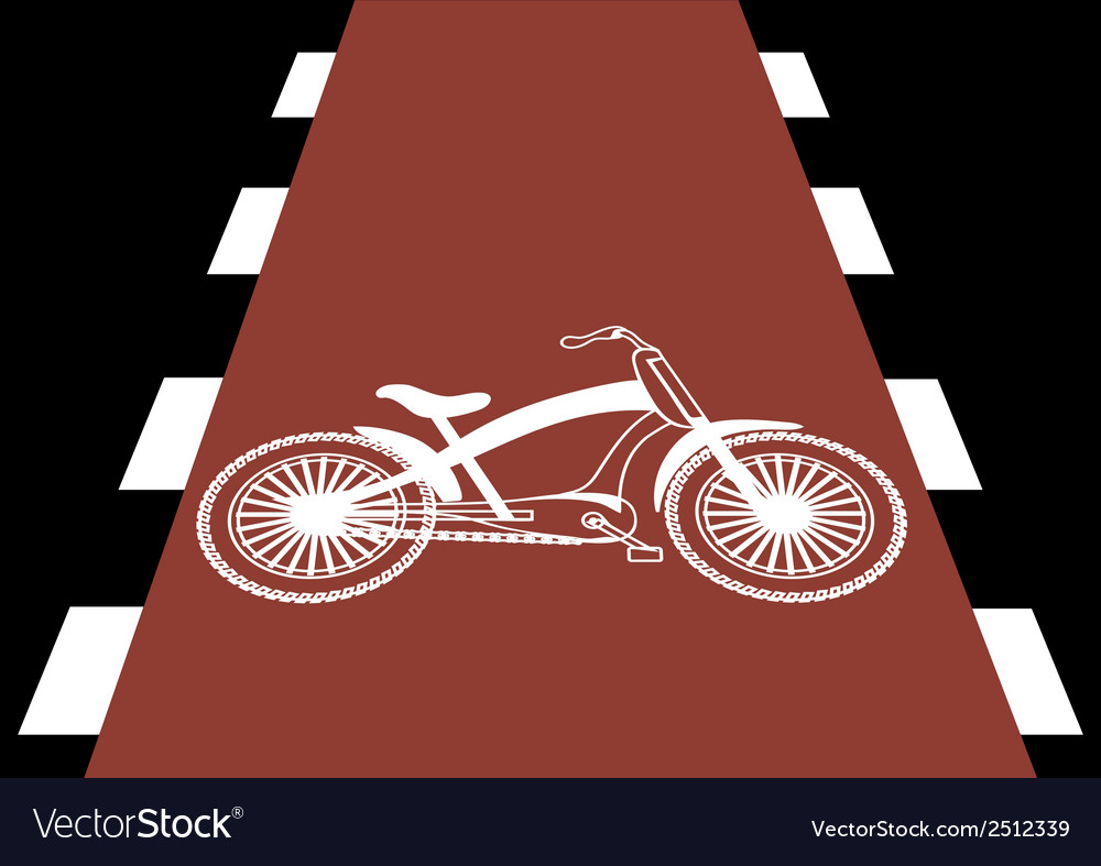 Bicycle traffic vector | Price: 3 Credit (USD $3)
