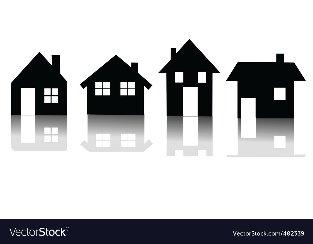 Houses vector   Price: 1 Credit (USD $1)