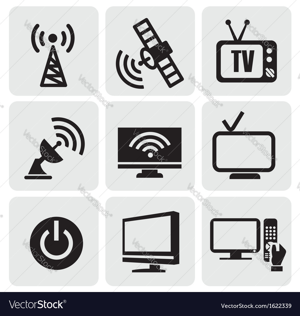 Tv screens set vector | Price: 1 Credit (USD $1)