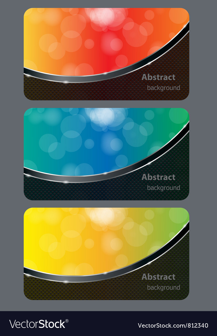 Brochure business card banner abstract background vector | Price: 1 Credit (USD $1)