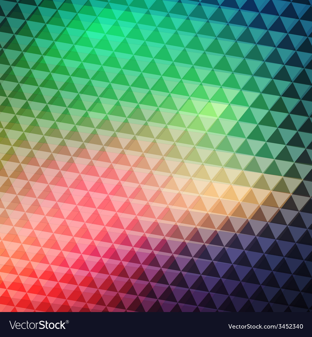 Colorful geometric banner vector | Price: 1 Credit (USD $1)
