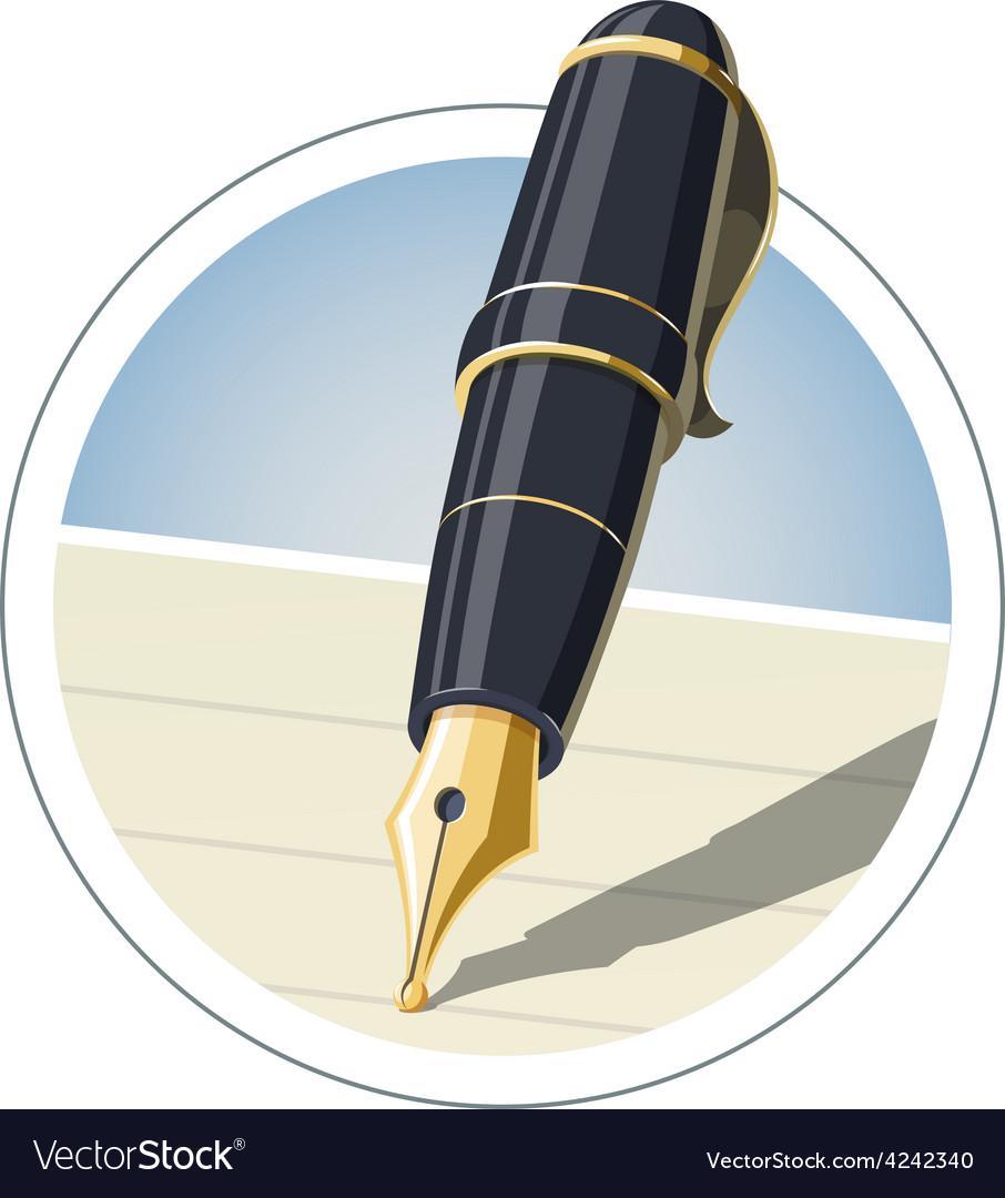Ink pen vector | Price: 3 Credit (USD $3)