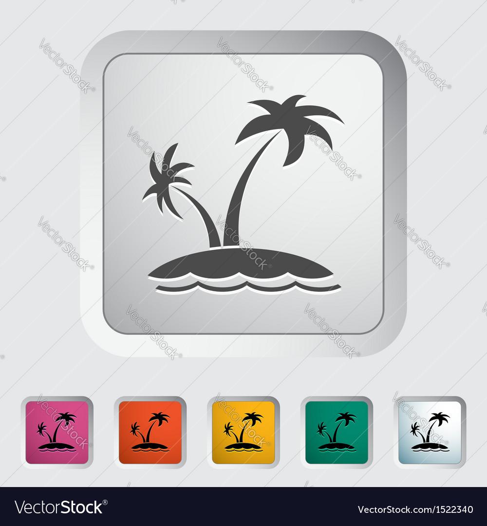 Palm tree vector | Price: 1 Credit (USD $1)