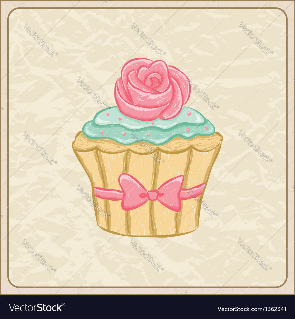 Cupcakes05 vector | Price: 1 Credit (USD $1)