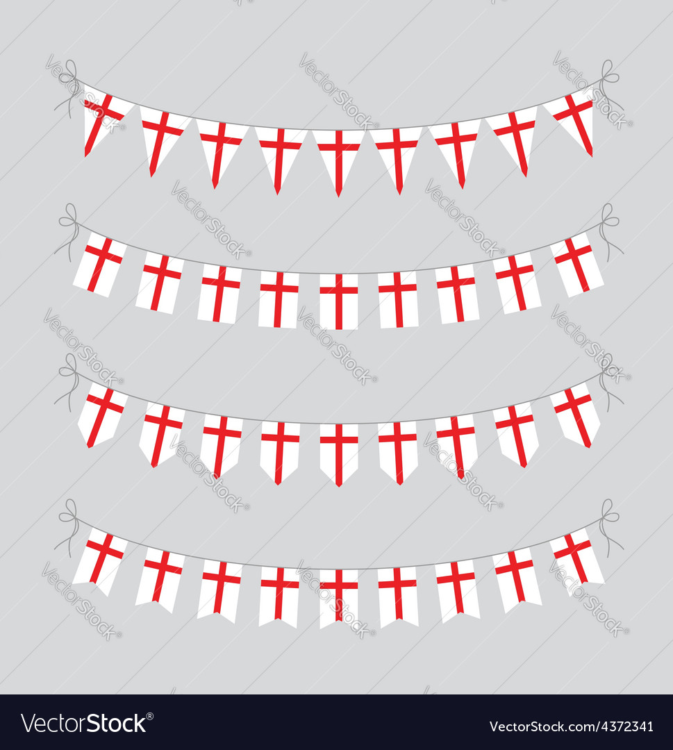 England bunting vector | Price: 1 Credit (USD $1)