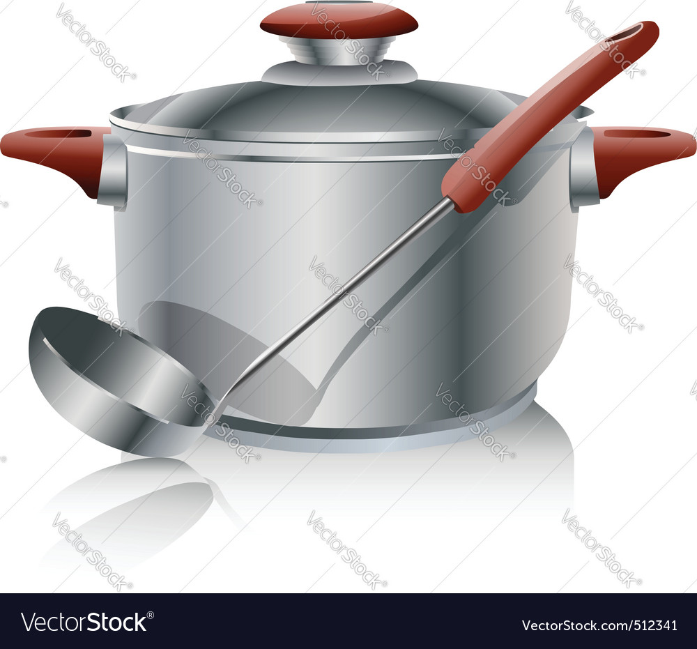 Stock pot vector | Price: 1 Credit (USD $1)