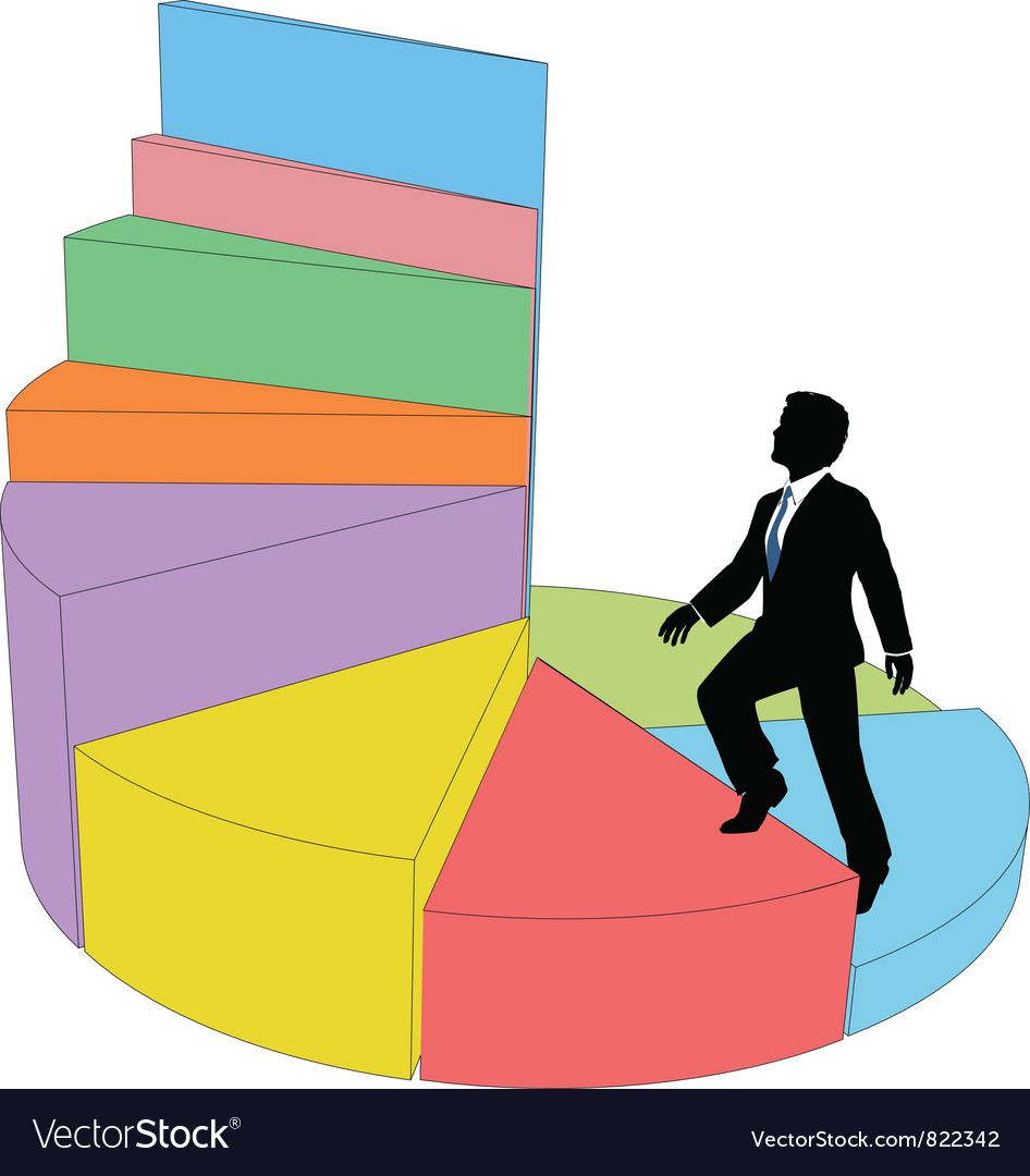 Business ladder vector | Price: 1 Credit (USD $1)
