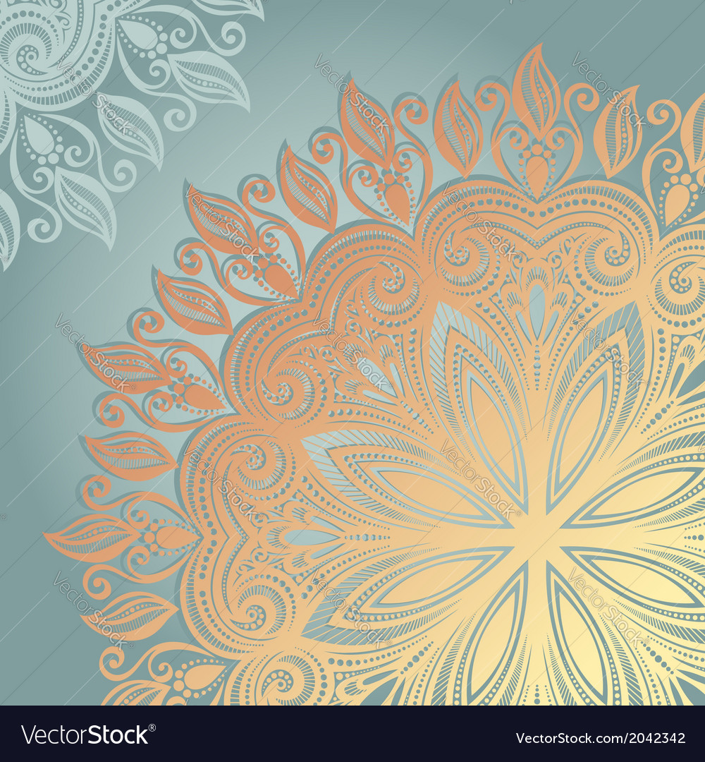 Colored ornate backgrounds vector | Price: 1 Credit (USD $1)