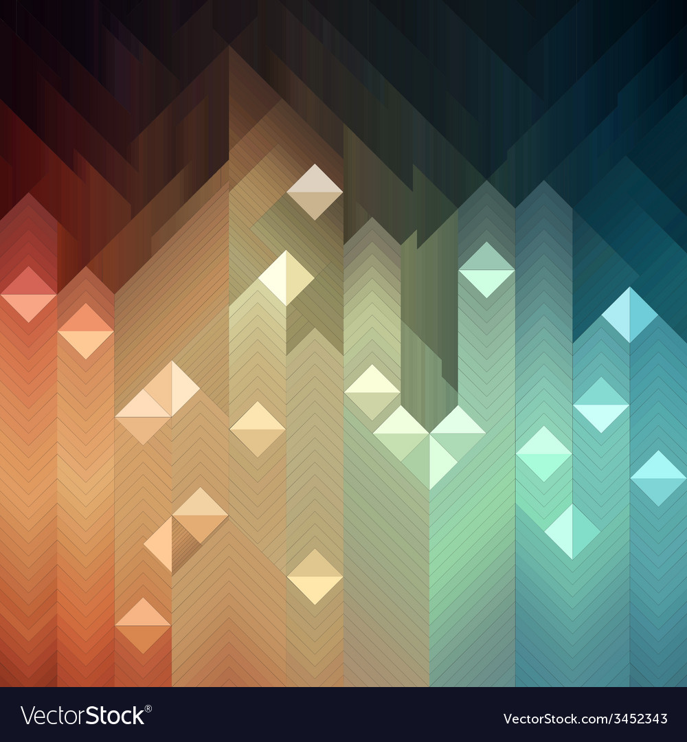 Colorful mosaic vector | Price: 1 Credit (USD $1)