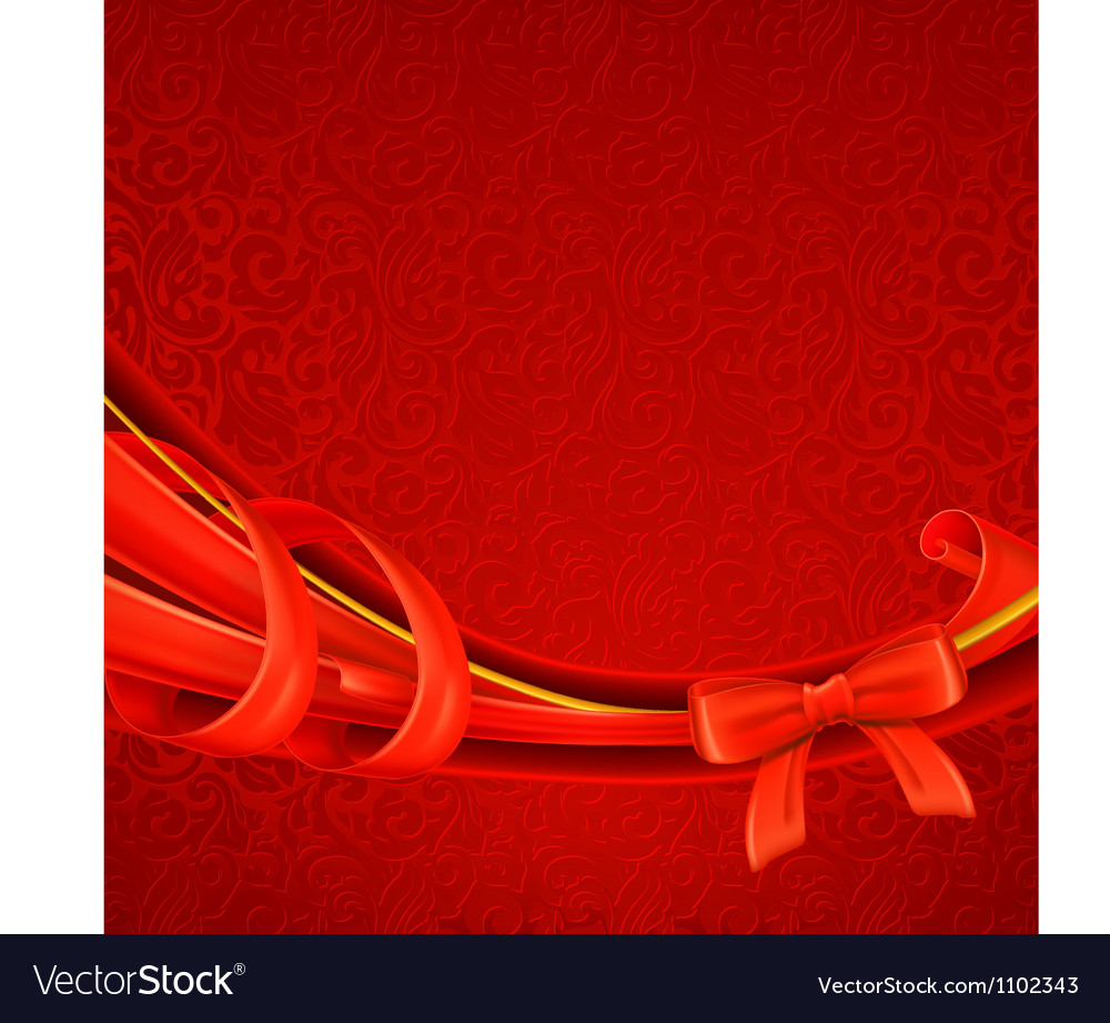 Greeting background red vector | Price: 1 Credit (USD $1)