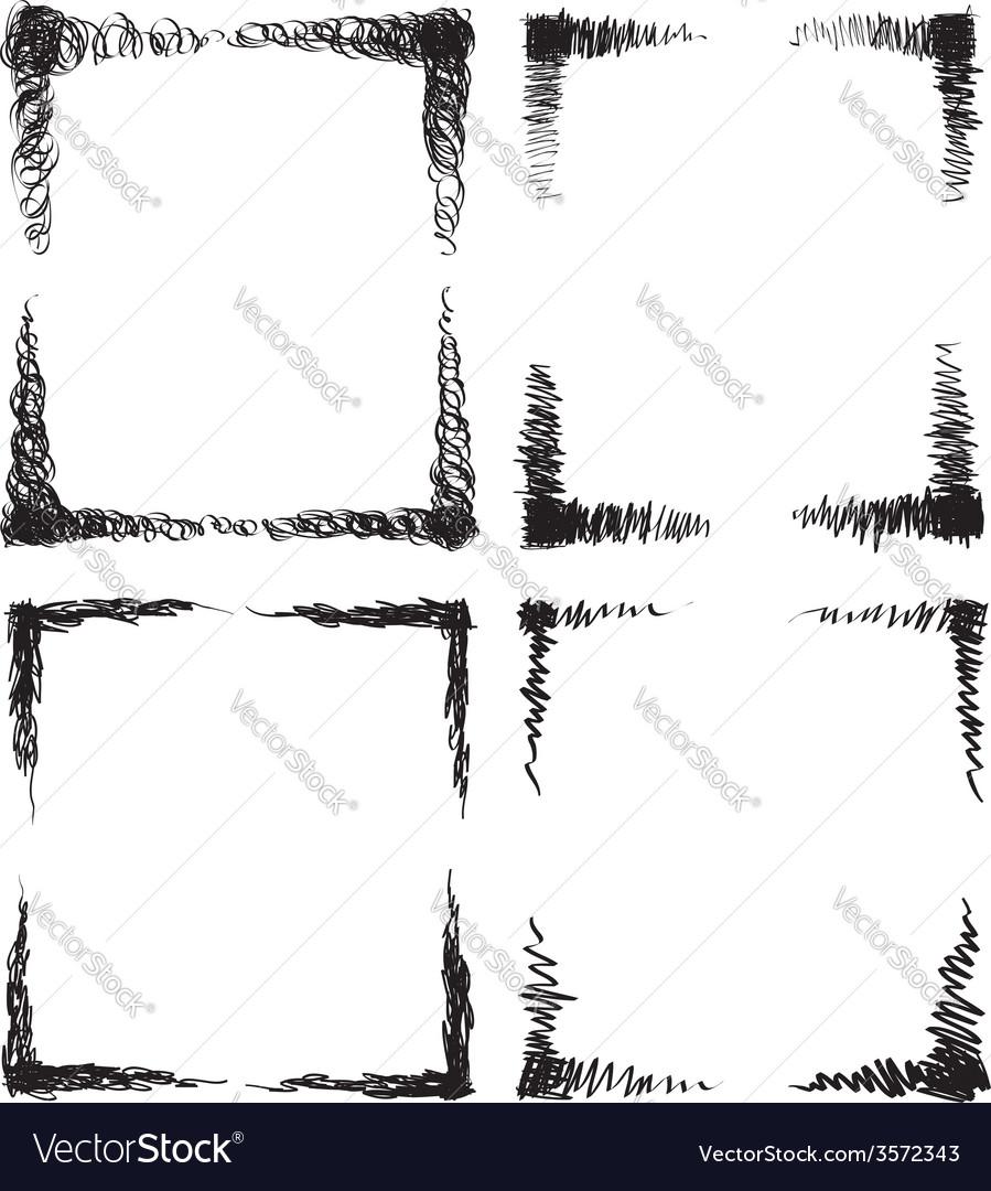 Scribble frames vector   Price: 1 Credit (USD $1)