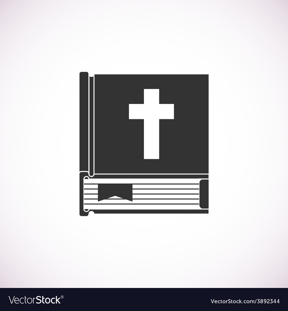 Bible book icon vector | Price: 1 Credit (USD $1)
