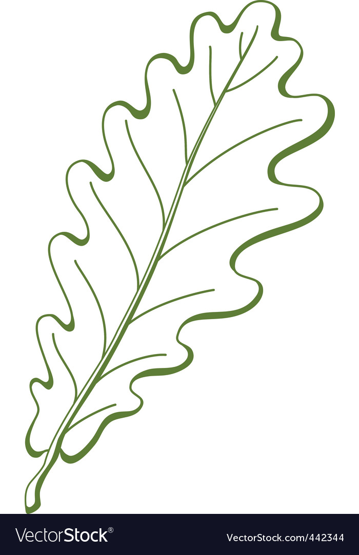F oak tree vector vector | Price: 1 Credit (USD $1)