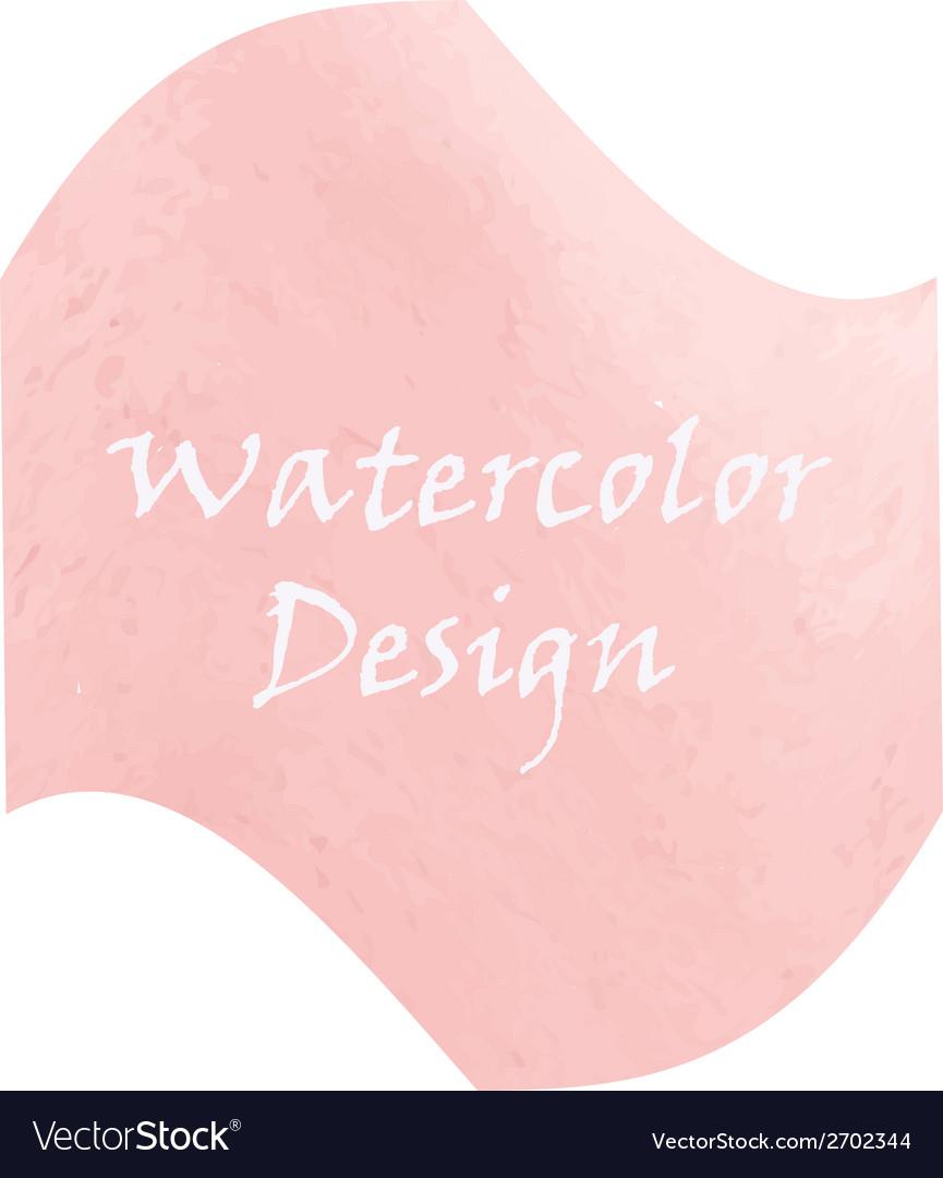 Watercolor peach color vector   Price: 1 Credit (USD $1)