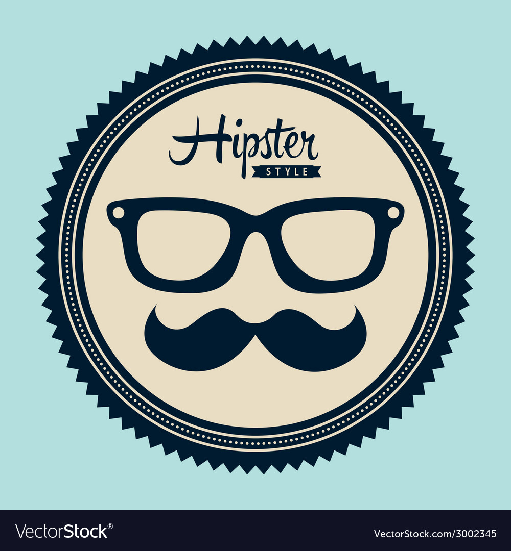 Hipster design vector | Price: 1 Credit (USD $1)