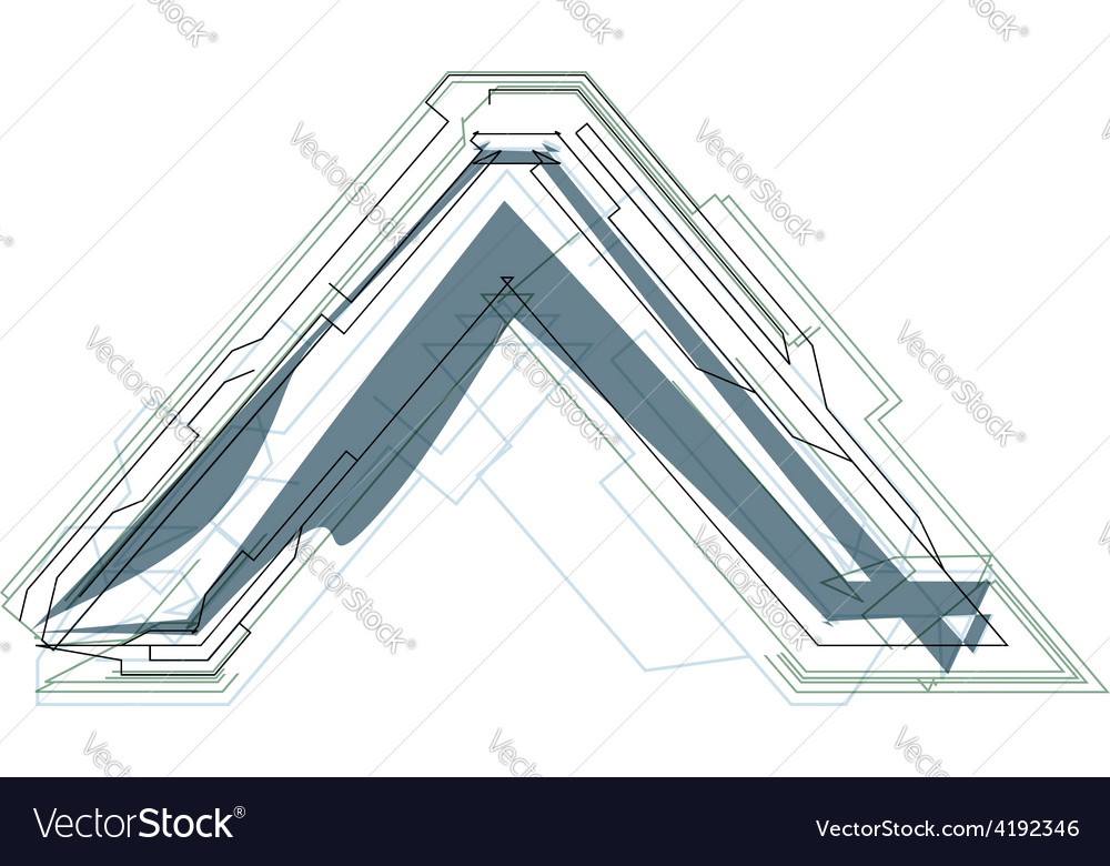Abstract sign vector | Price: 1 Credit (USD $1)