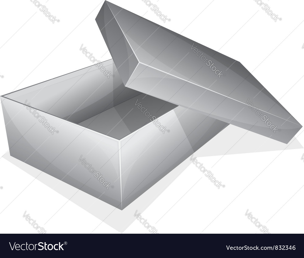 Empty box vector | Price: 3 Credit (USD $3)