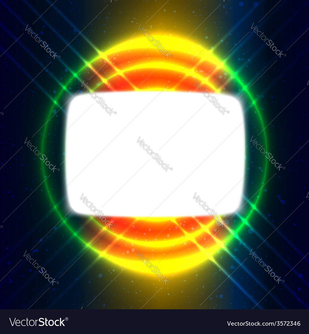Shiny screen on the crossed wires vector | Price: 1 Credit (USD $1)