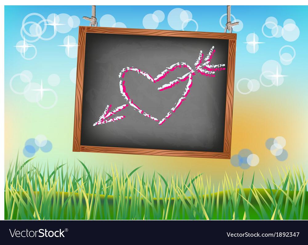 Banner happy valentine s day vector | Price: 1 Credit (USD $1)