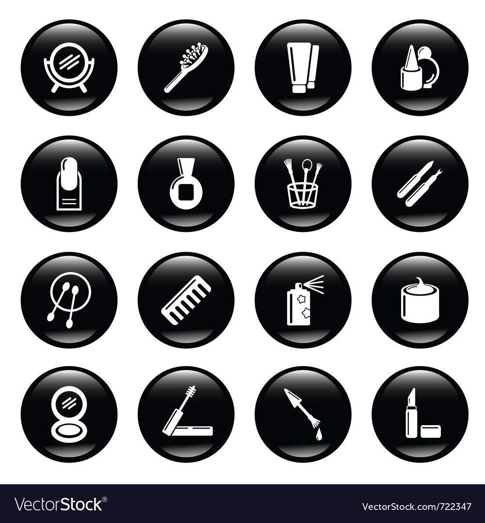 Cosmetic icons vector   Price: 1 Credit (USD $1)