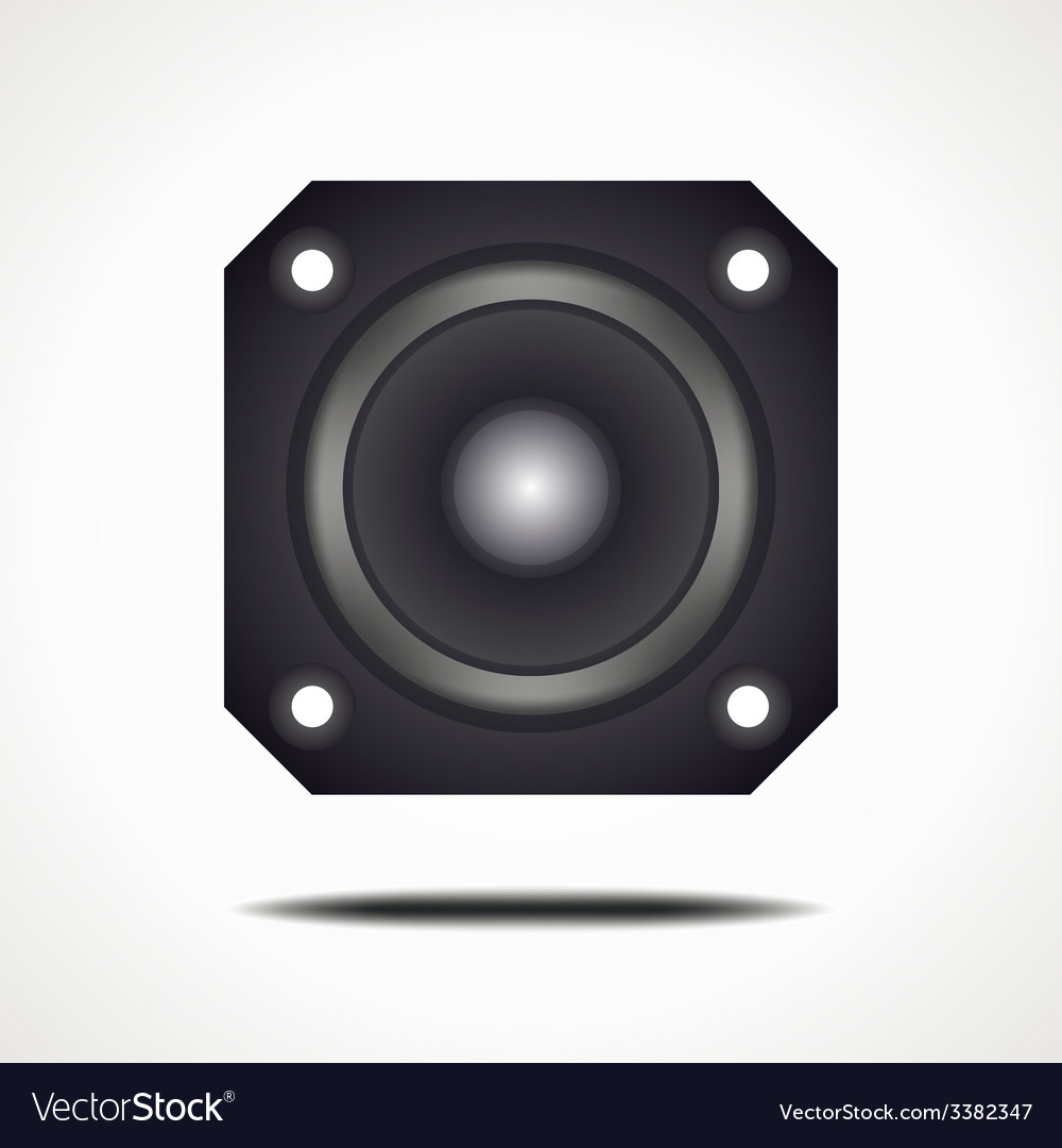 Speakersquare vector | Price: 1 Credit (USD $1)