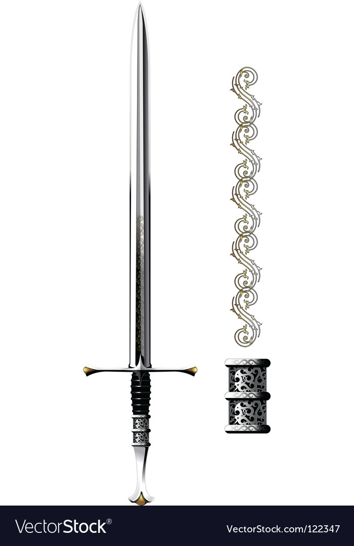 Sword shine vector | Price: 1 Credit (USD $1)