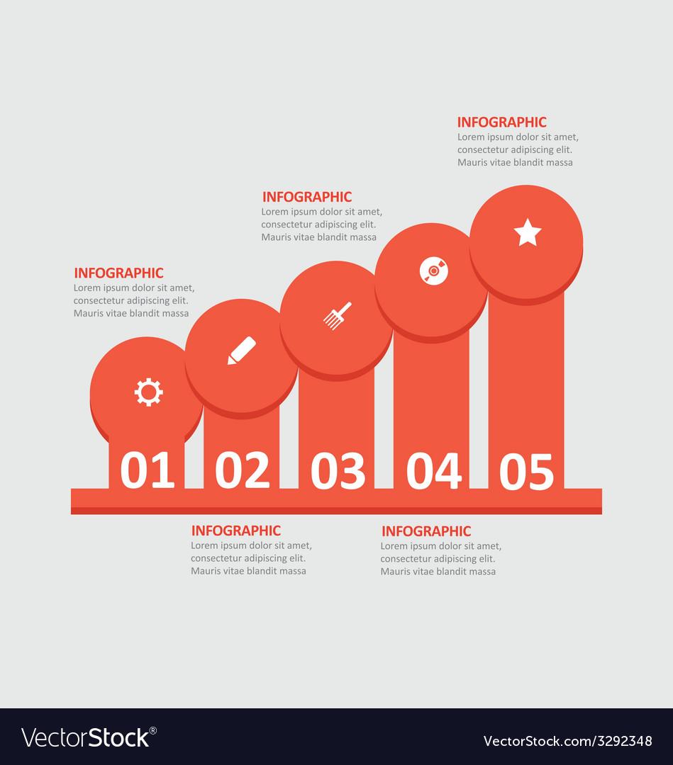 Infographic 114 vector | Price: 1 Credit (USD $1)