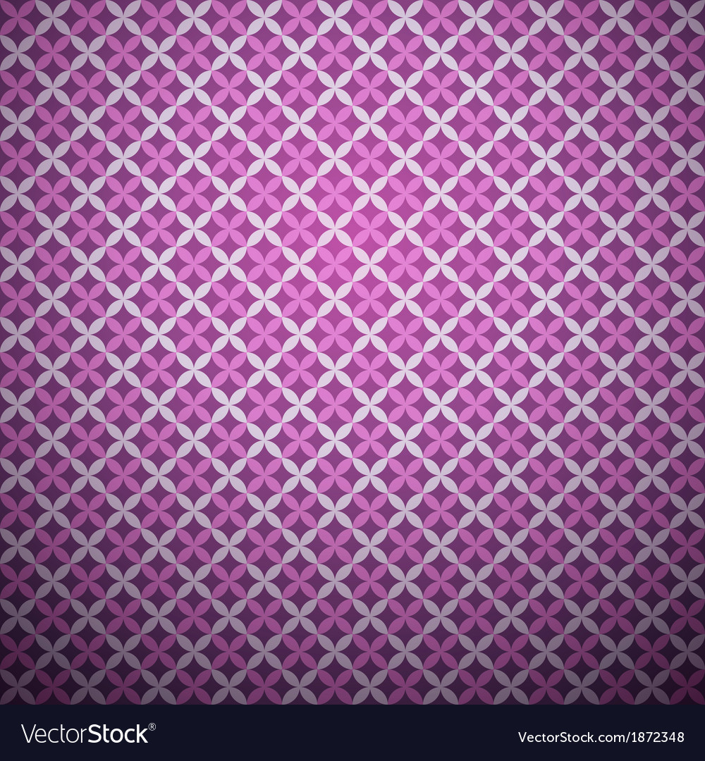 Lavender seamless pattern with square swatch vector | Price: 1 Credit (USD $1)