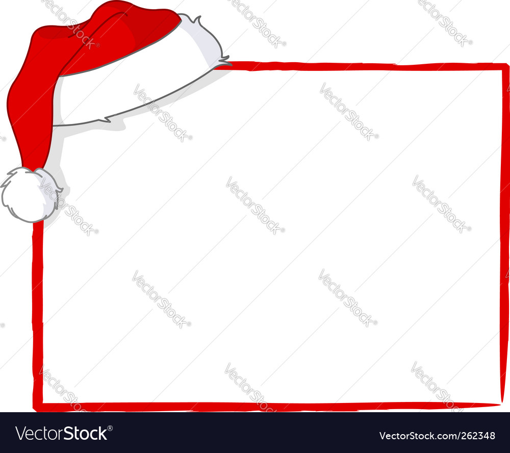 Santa card vector | Price: 1 Credit (USD $1)
