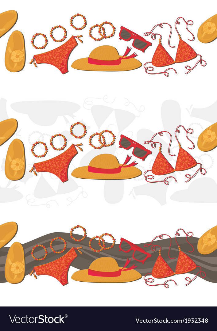 Summer outfit background vector   Price: 1 Credit (USD $1)