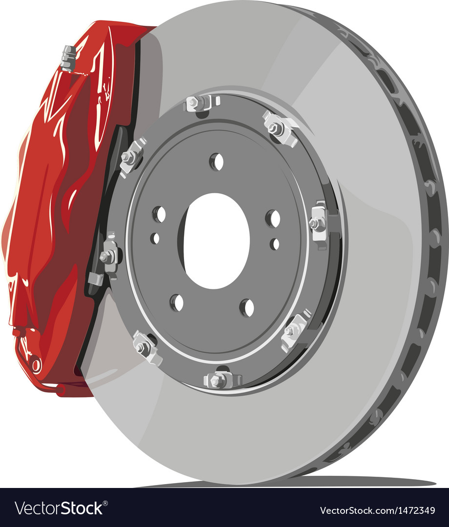 Brake disc vector | Price: 1 Credit (USD $1)