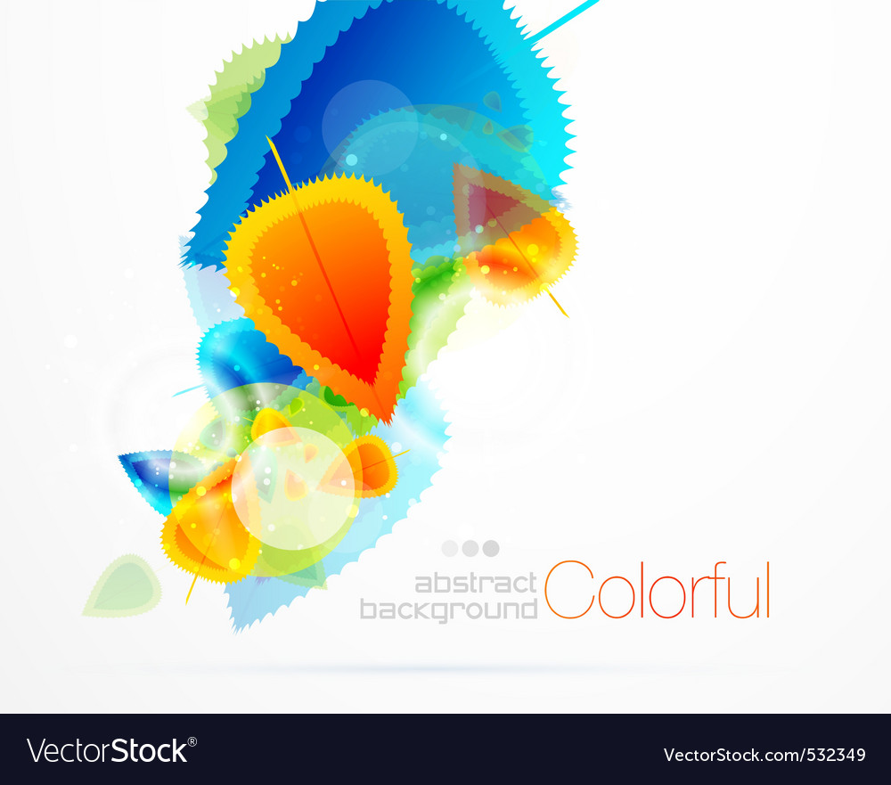 Colorful seasons vector | Price: 1 Credit (USD $1)