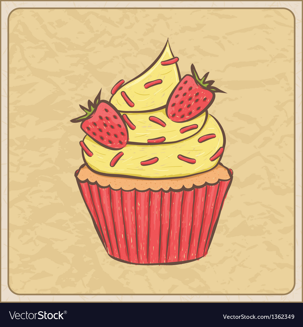Cupcakes10 vector | Price: 1 Credit (USD $1)