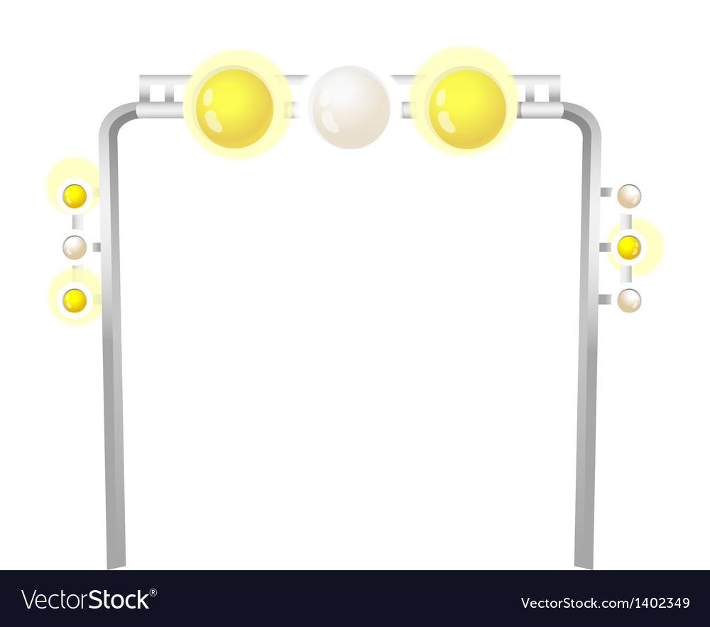 Icon light vector | Price: 1 Credit (USD $1)