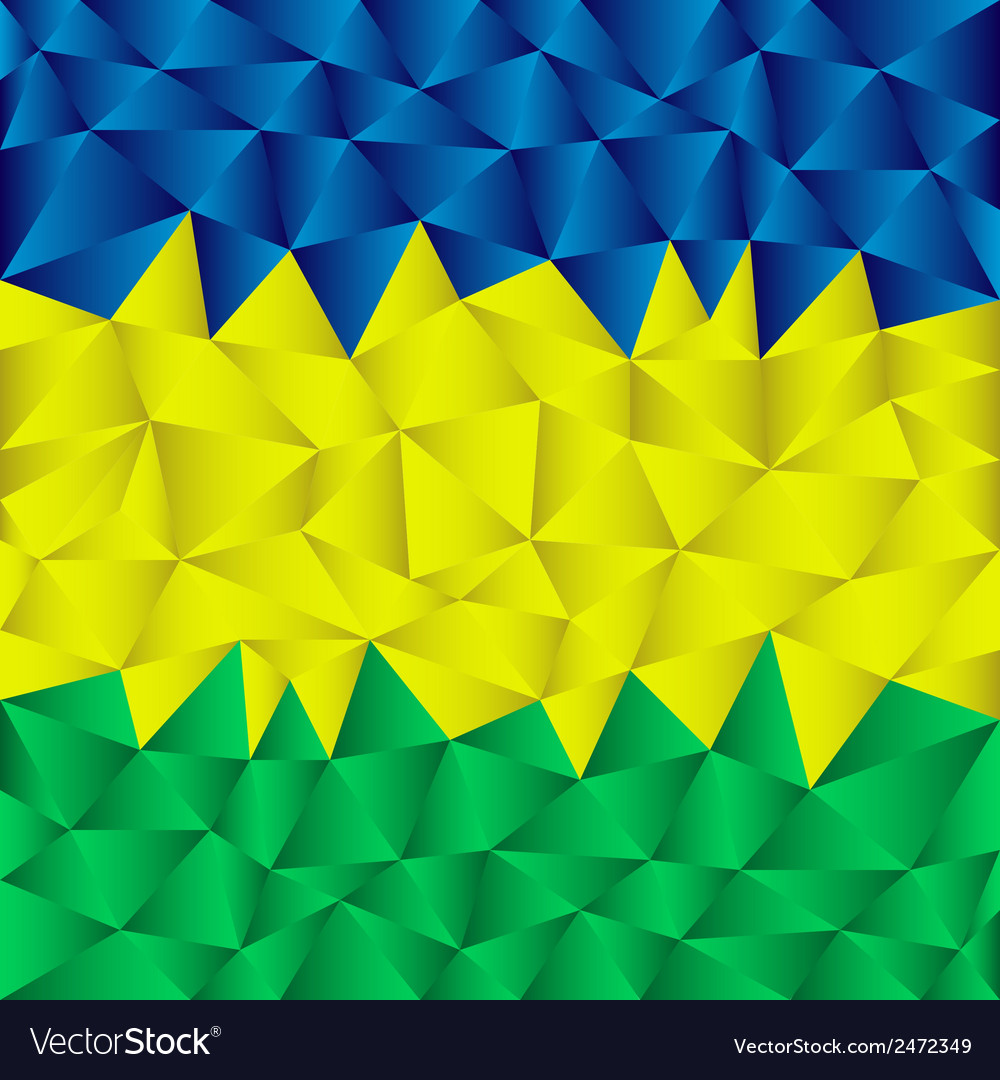 Triangular brazil background vector | Price: 1 Credit (USD $1)