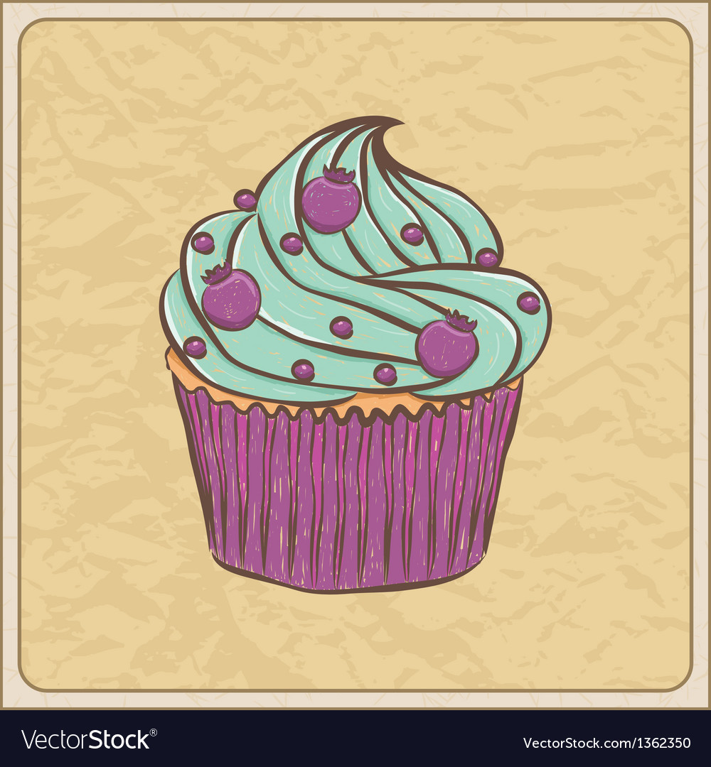 Cupcakes11 vector | Price: 1 Credit (USD $1)