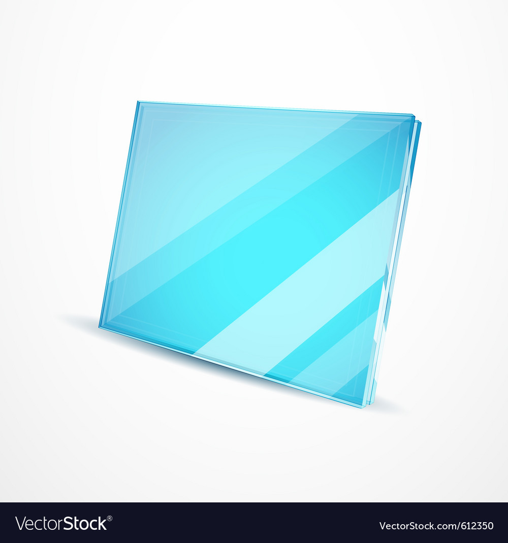 Glass plates vector | Price: 1 Credit (USD $1)